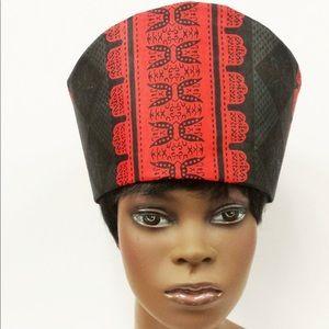 African Print Hat Kufi